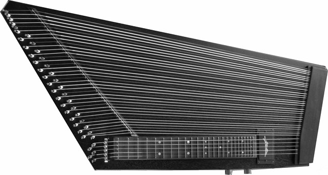 E-Zither frontal